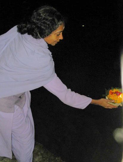 Ganga-offering